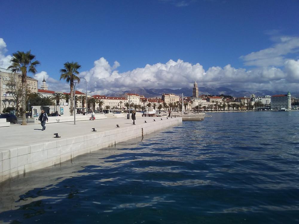 Dalmatian Riviera in Split - Croatia