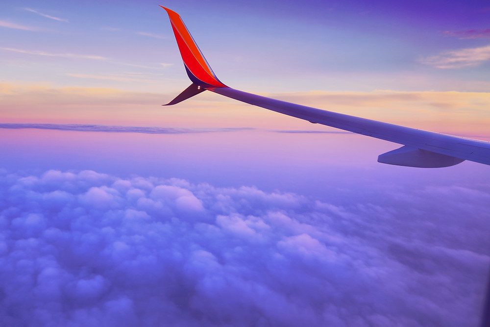 airplane jetlag travel