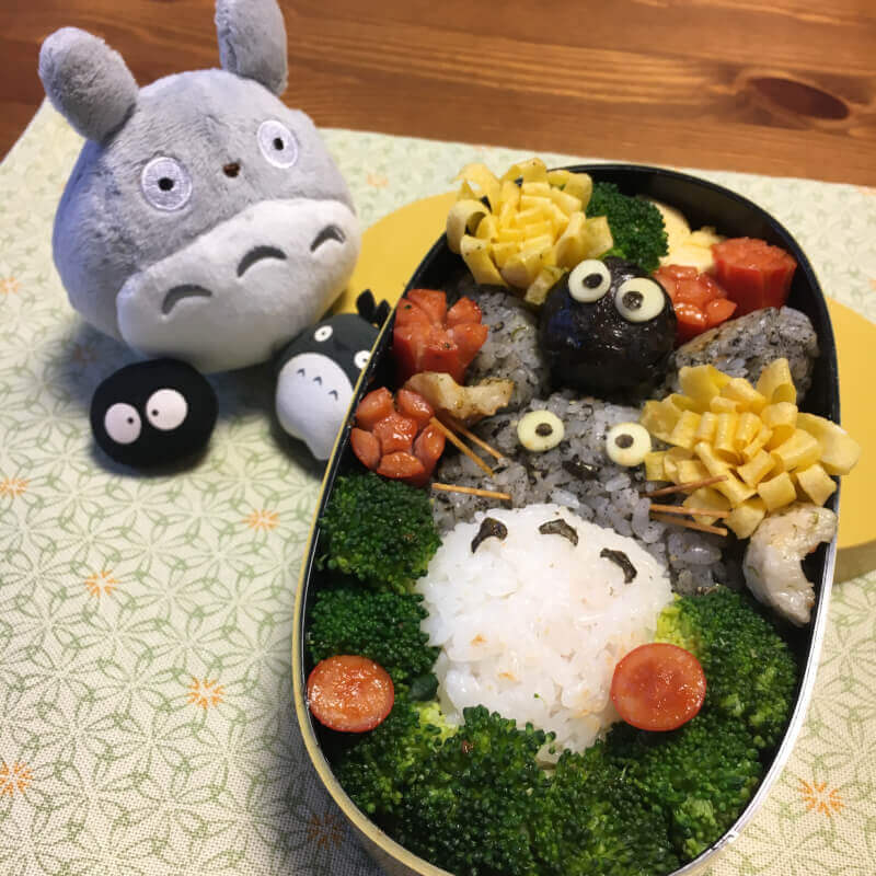 Japanese food - totoro bento box