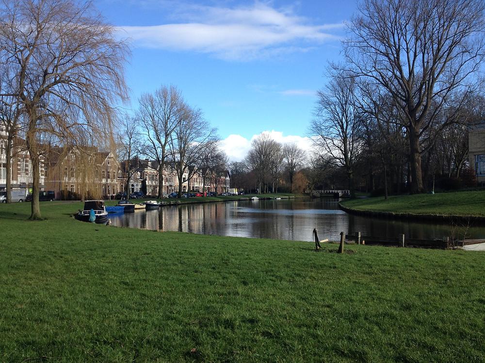 Holland Canal Landscape
