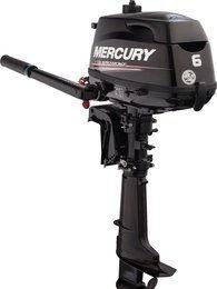 Mercury, four stroke, 4 tempi, quattro tempi, 4-6 hp, trieste, motori marini