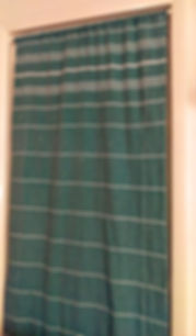 Turkish Towel Made Into Curtain