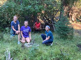Team 1 Shelter