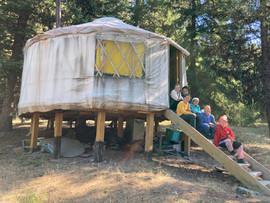 The Girls Yurt