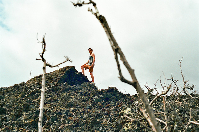 On The Lava Hill