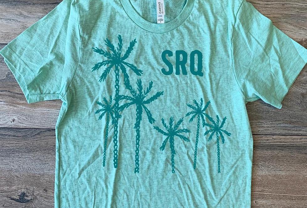 SRQ Palm Tree Shirt