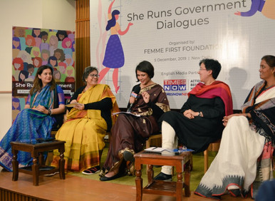 She Runs Government Dialogues Launch Event