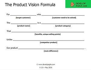 Product Vision Formula