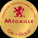Concours International de Lyon Gold Medal Naveau meilleur champagne best