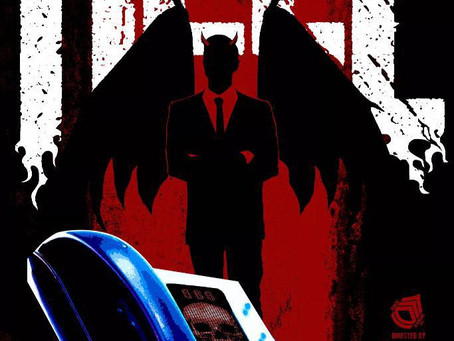 """Mason Jordan Mills & Robert D. Jones in """"Hell!"""""""