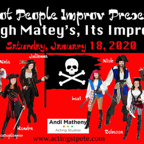 Come to the first Hot People Improv show of the decade!