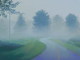 Fog at Stony