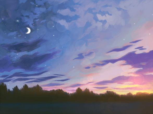 Dusk after the movie