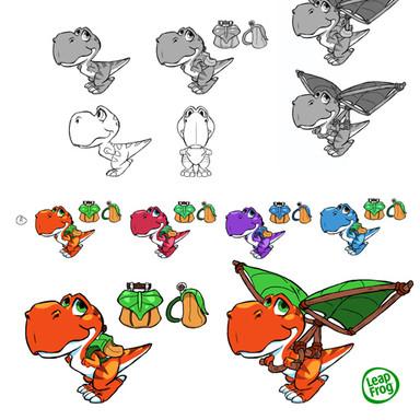 Leap Frog T-Rex Rush Tyrone Character De