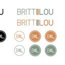 Britt and Lou Official Logos