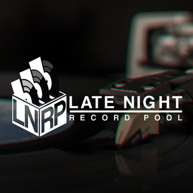 Late Night Record Pool Logo