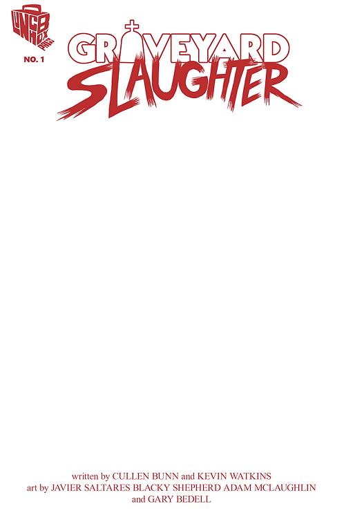 Graveyard Slaughter #1 Sketchcover