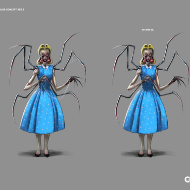 Crypt TV Miss Annity Final Concept Art