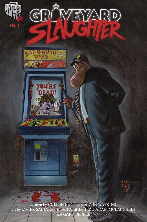 Graveyard Slaughter #1 LIMITED Javier Saltares Variant
