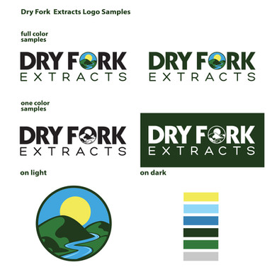 Dry Fork Extracts Logo