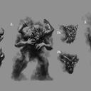 Crypt tv Splintered Concept Sketches