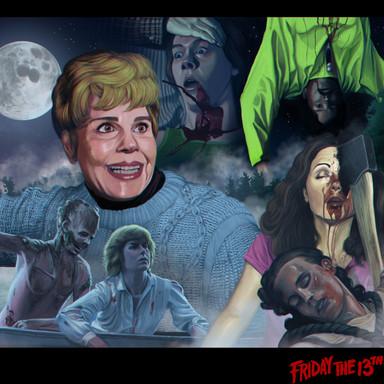 Friday the 13th Illustration