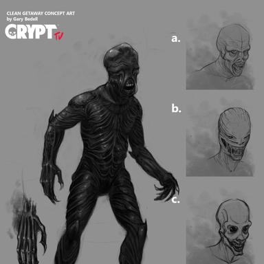 Crypt tv Splintered Concept 3