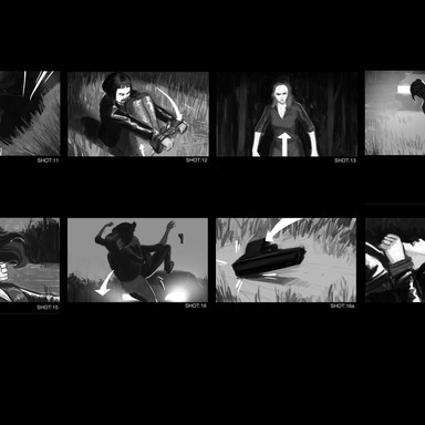 Above Ground (The Weight) Storyboard lay