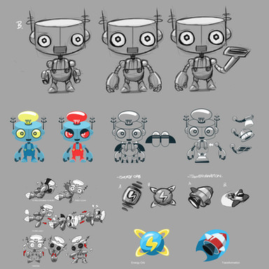 Geo Team Tidy Bot Designs
