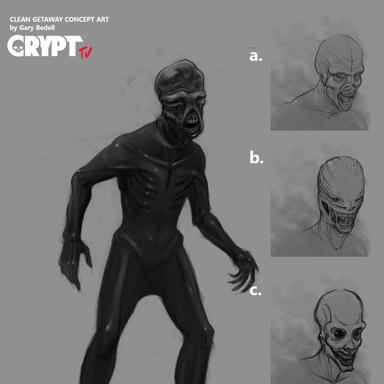 Crypt tv Splintered Concept 1