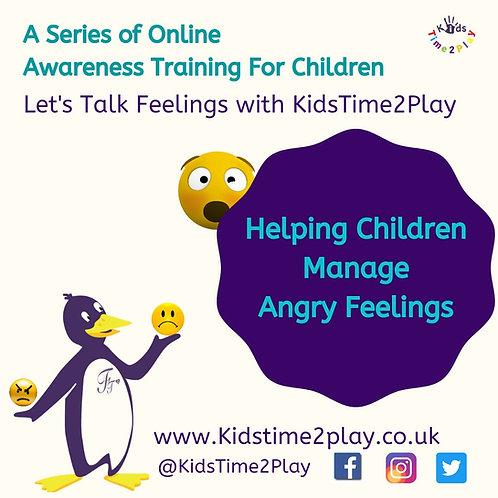 Managing Angry Feelings Online Training