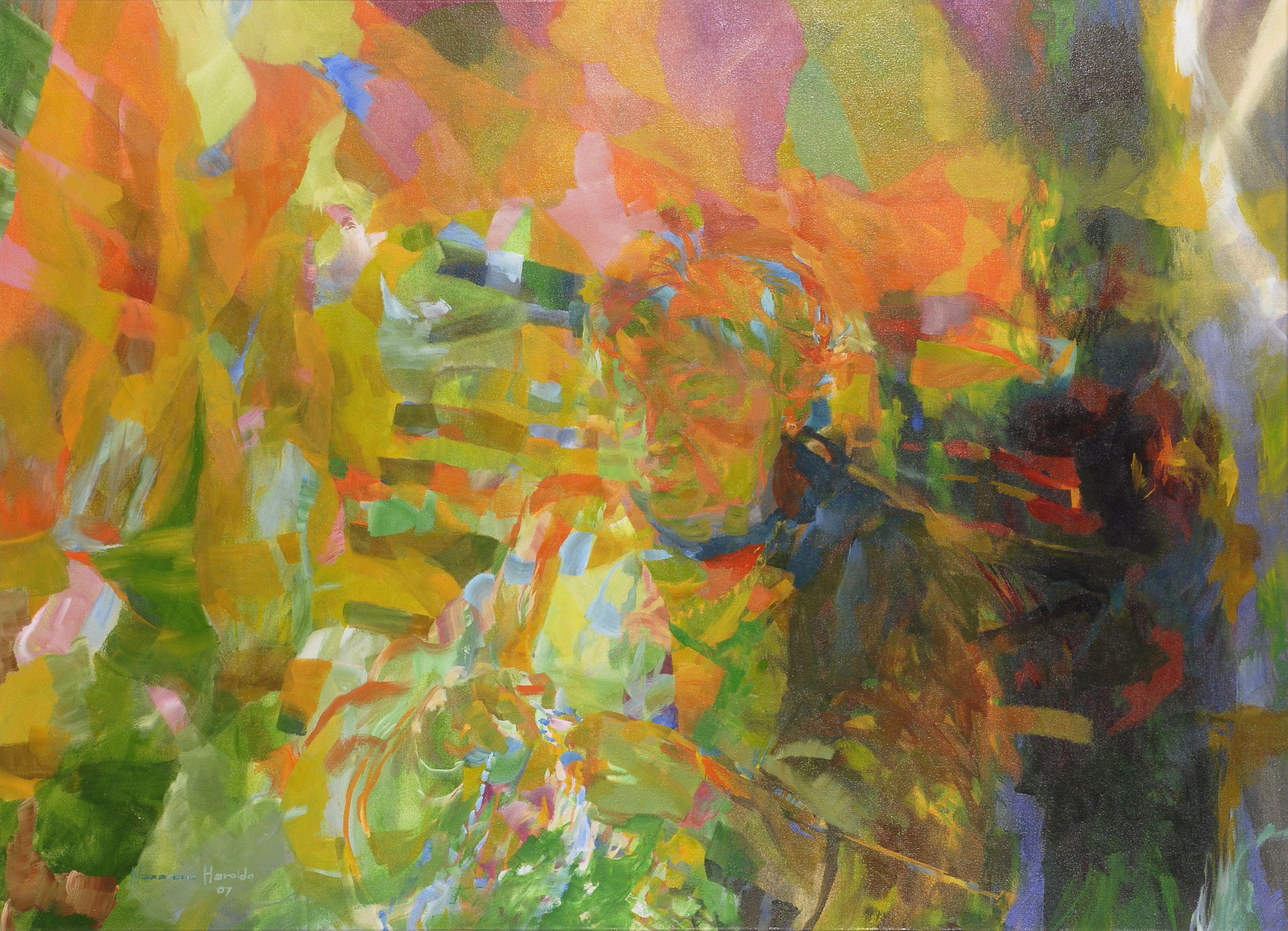 Oil on canvas 105 x 145 cm