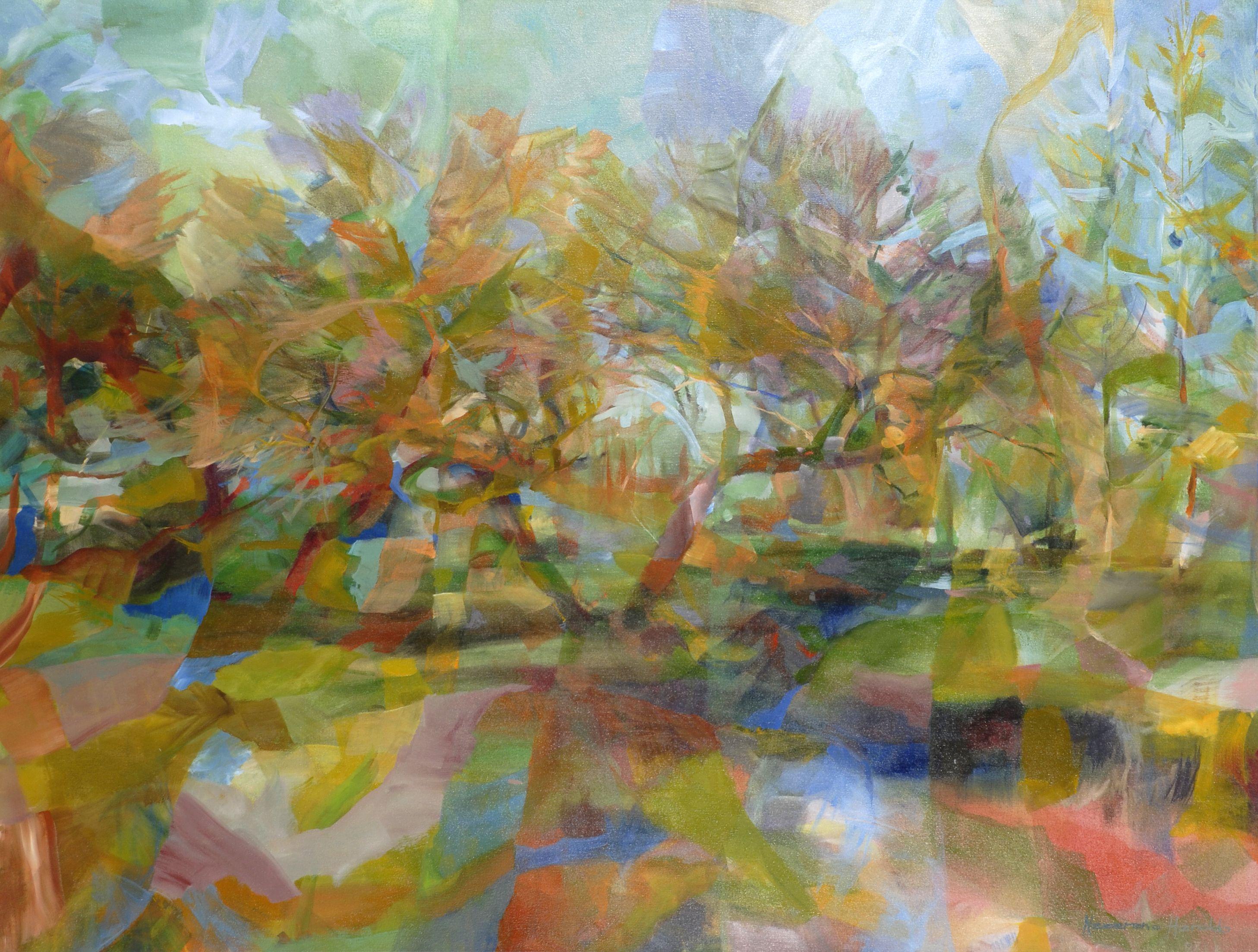 Oil on canvas 130 x195 cm