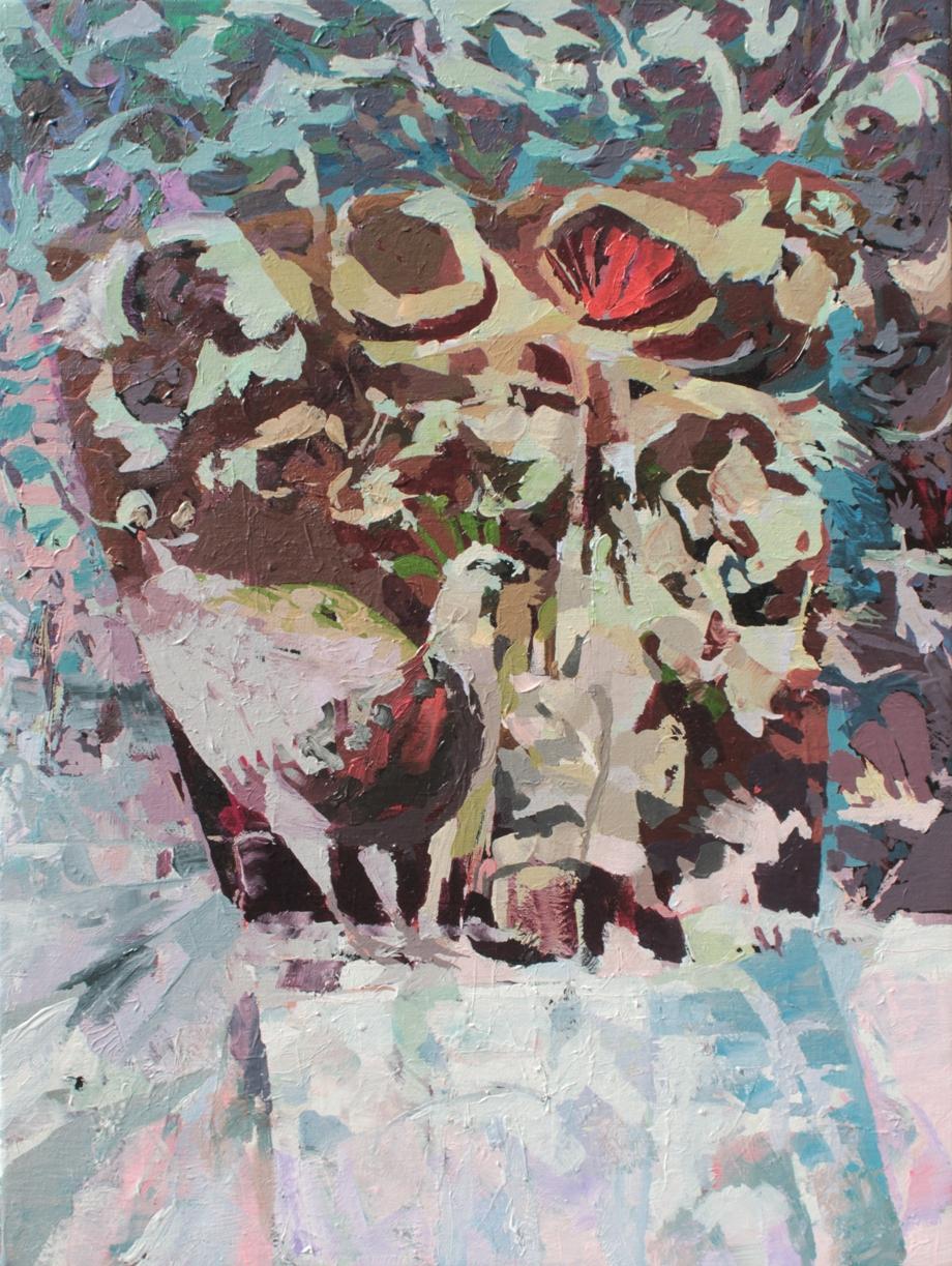 nasha, Acryl auf leinwand 60 x 80 cm