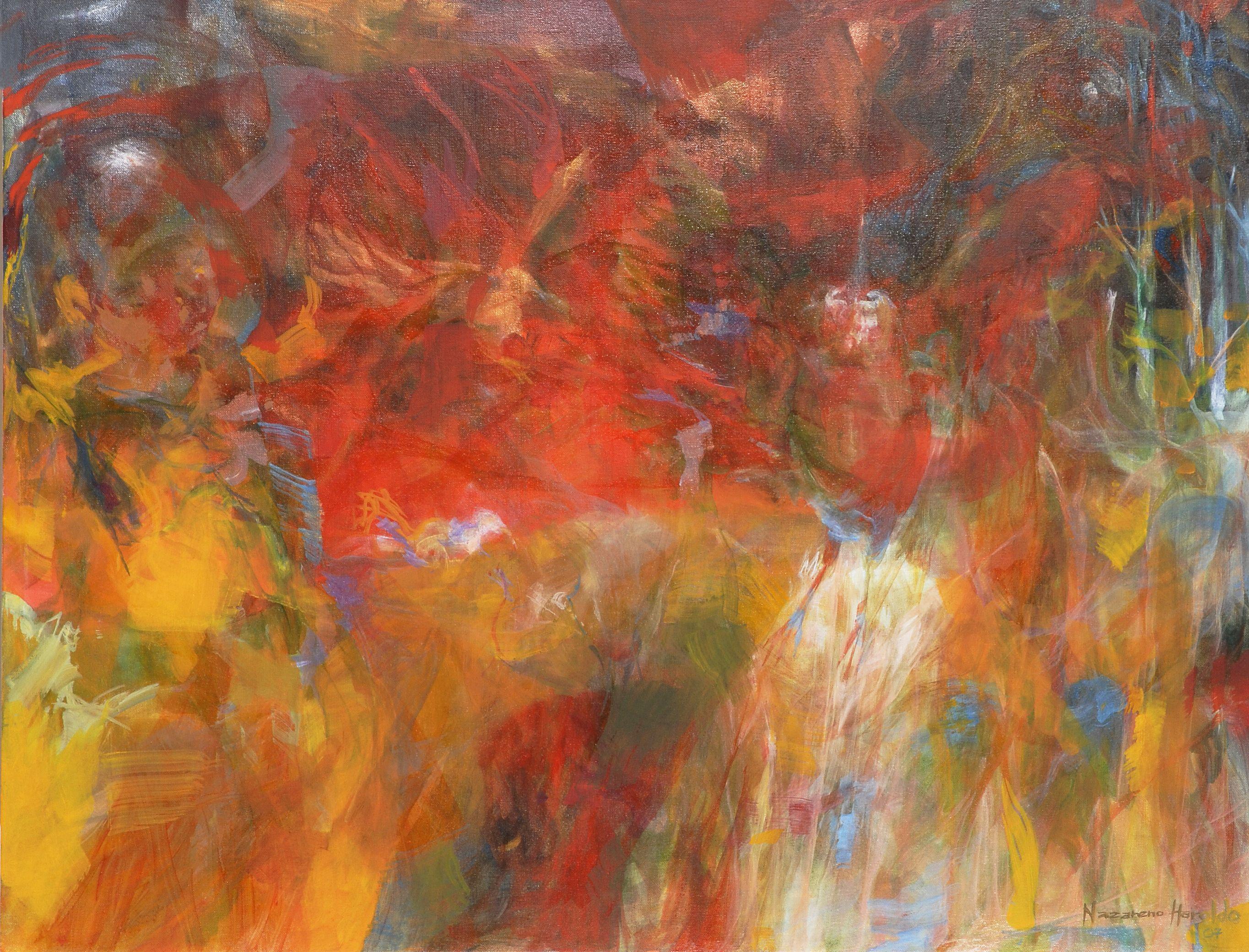 Oil on canvas 70 x 85 cm
