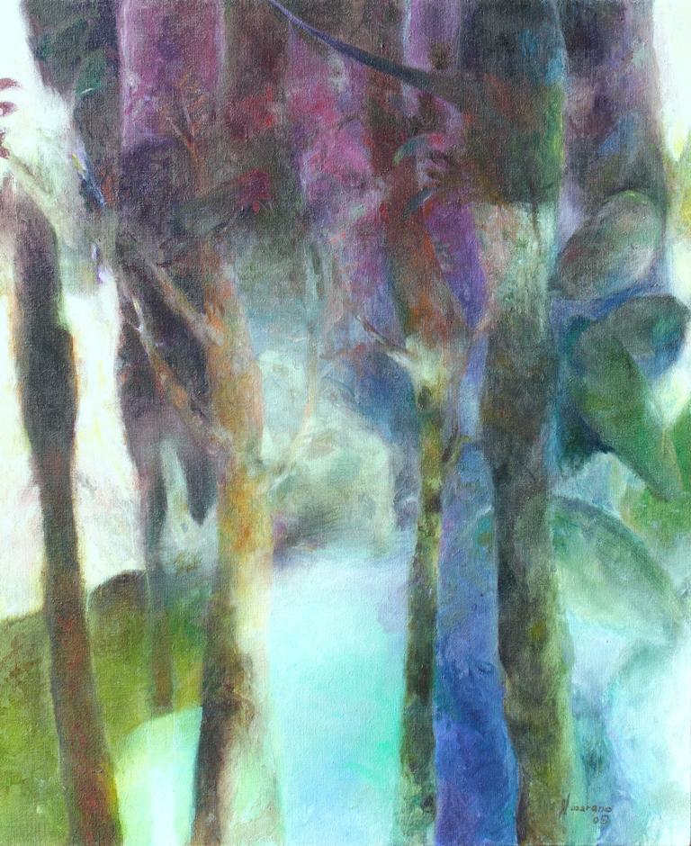 Oil on canvas 90 x 115 cm