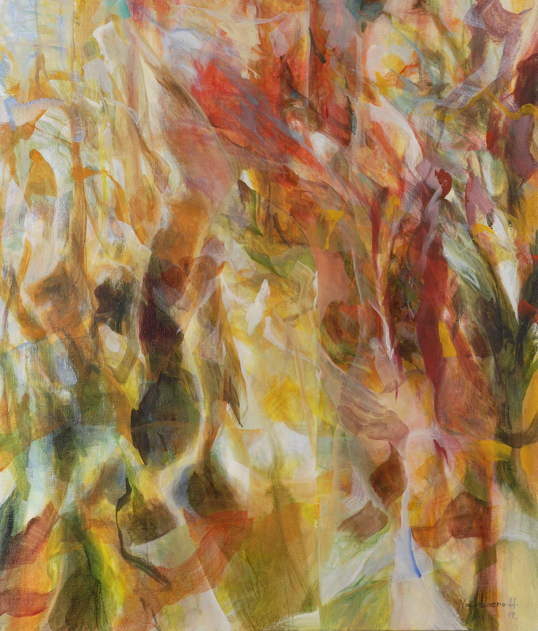 Oil on canvas 110 x 95 cm