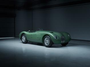 Celebrando los 70: el Jaguar C-Type se incorpora a la familia de Classic