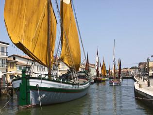 Cesenatico, Italia: Historia junto al mar