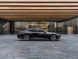 El espectacular interior del nuevo Lexus LS 500h