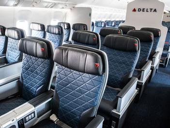 Delta Premium Select llega a más aeronaves