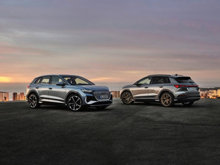 Audi llevó a cabo el estreno mundial online del Q4 e-tron y el Q4 Sportback e-tron