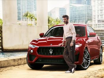 Maserati y David Beckham