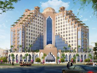 Hotel Occidental Al Jaddaf, un hotel de diseño en el centro histórico de Dubai.