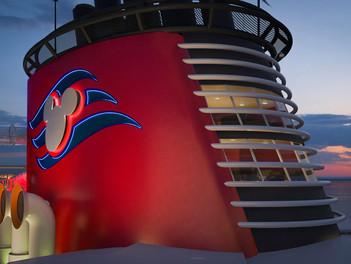 Disney Cruise idealiza una suite en la chimenea del Disney Wish