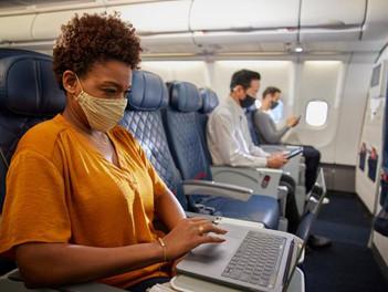 Wi-Fi  rápida y fiable en los vuelos de Delta