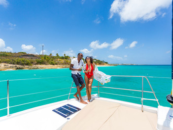Escapada romántica a la burbuja de Anguilla