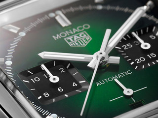 Presentamos la nueva edición limitada TAG Heuer Mónaco Green Dial