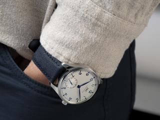 IWC Schaffhausen presenta sus correas de reloj Timbertex con base de papel