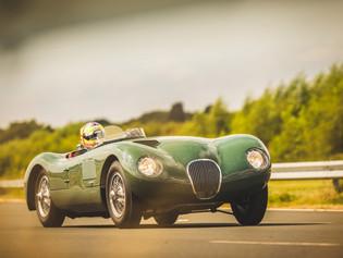Jaguar presenta: Nueva réplica del Jaguar C-TYPE